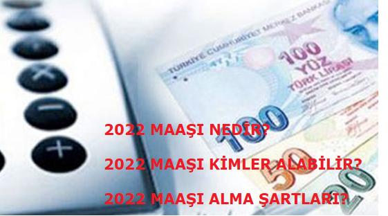 2022 maaşı nedir