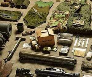 Askerde verilen malzemeler